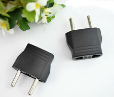 Electrical Home Charger Wall Ac Plug Adapter Converter Us to Eu Europe Socket