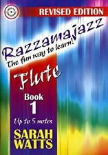 Razzamajazz - The Fun Way To Learn Flute: Book 1 - ... by Watts, Sarah Paperback