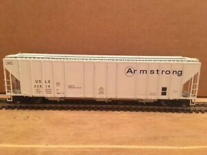 HO Exactrail Armstrong Evans 4780 3-Bay Covered Hopper #20819 NS CSX BNSF UP KCS