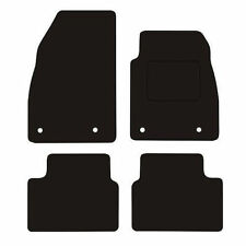 Vauxhall Insignia (2008-2013) 3mm black Penny Rubber tailored car floor mats