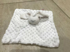 South Touch Bunny white rabbits spotty Baby Comforter blanket blankie soft toy