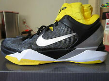 NEW Nike Zoom Kobe VII 7 Supreme Black/Del Sol Yellow Size 13 Black Mamba NIB