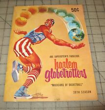 "1965 HARLEM GLOBETROTTERS 39th Season ""Magicians of Basketball"" Program"