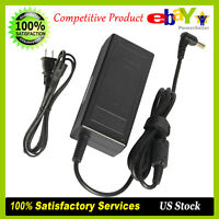 For HP 2011X 2211X 2311X LED LCD Monitor Charger AC Adapter Power Supply Cord