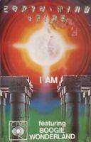 Earth Wind And Fire-I Am Cassette.1979 CBS 40 86084.Boogie Wonderland/Star/Wait+