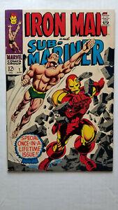 Iron Man and Sub-Mariner #1 F/VF