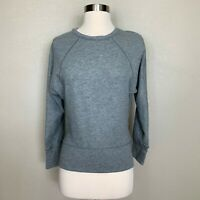 Lululemon Time Out Crew Top Reversible Heathered Bleached Coral Gray Size 2