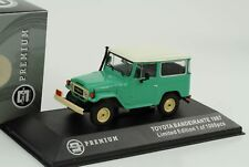 Toyota Land Cruiser Fj40 Vert 1967 / Bandeirante 1/43 4x4