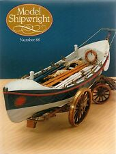 Model Shipwright No 88  (Conway 1994 1st) with Modeller's Draught plan