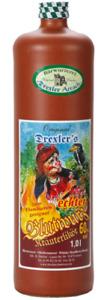 (26,95€/L) Blutwurz Drexler 60%, Kräuterlikör, 1 Liter