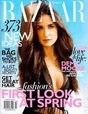 Harper's Bazaar,Demi Moore,Kate Moss,Diane von Furstenberg,Candice Swanepoel