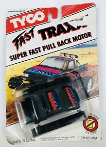 Tyco FAST TRAXX Super Fast Pull Back Motor 1991 Playtime No. 2151 New RARE