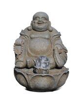 Happy Buda Pozo Asiático Fuente de Habitación Buda Altura, con Risa Buda