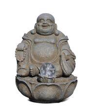 Happy Bouddha Fontaine Asiatique D'Intérieur Hauteur, Qui Rigole