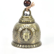 buddha statue pattern bell blessing feng shui wind chime for good luck fortune N