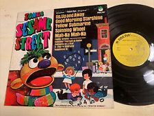 Songs From Sesame Street LP Peter Pan Kids Children's VG+!!!