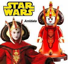 Queen Padme Amidala Minifigure fits Lego Toy Star Wars H72635