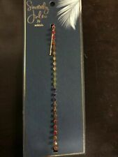 Sincerely Jules Scunci Headwrap With Rainbow Stones
