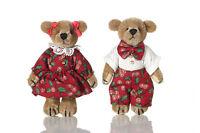 "World of Miniature Bears 2.75"" Plush Bear Set Phoebe 'N' Phil #5033SET"