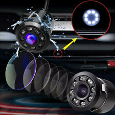 18.5mm Car Backup Camera HD Reverse Rear View 8 LED Night Vision Waterproof CCD