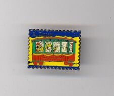 Disney Clarabelle Scrooge Goofy Grandma Duck Christmas Train Postage Stamp Pin