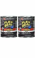 Pack of 2Flex Seal Liquid Rubber Sealant Coating As Seen on Tv Black