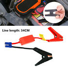 34cm Booster Cable Battery Alligator Clamp Emergency Lead For Car Jump Starter