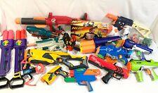 Nerf Huge Lot Vintage Gun Blaster Max Force Super Maxx + N-Strike