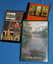 """Turkey Hunting Book, Tom Kelly's """"The Boat"""" signed,plus extras."""