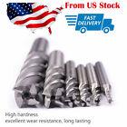 "6pc HSS CNC 4 Flute Spiral Bit End Mill Cutter 1/8 3/16 1/4 5/16 5/8 1/2"" in US photo"