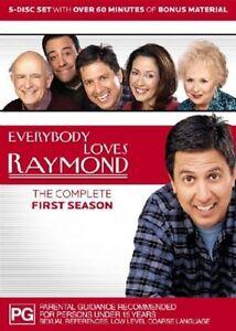 Everybody Loves Raymond : Season 1 (DVD, 2004, 5-Disc Set) VGC