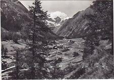 VALLE D'AOSTA COGNE 73 VALNONTEY Cartolina FOTOGRAFICA viaggiata 1967