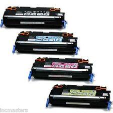 4Pk HP Color LaserJet 3600 3600N 3600DTN Laser TONER Cartridge SET BK M C Y