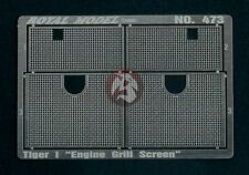 Royal Model 1/35 Tiger I Tank Engine Grill Mesh Screen WWII (Dragon) [PE] 473