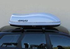 Farad Box baule portatutto portapacchi per auto 400 Lt - 160x80x40 Grigio Metal