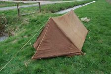WWII British Army airborne  Tent dated