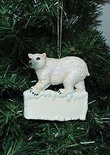 Zooville, Polar Bear Christmas Ornament