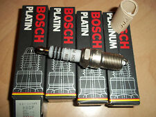 RENAULT Fuego GTX , R20TS &  R30TS Platinum Spark Plugs Bosch H6DP See Ad