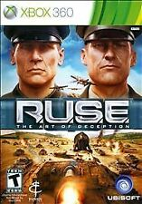 R.U.S.E. Ruse -- Microsoft XBOX 360 -- CONDITION B+
