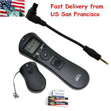 New Intervalometer Wireless Time Remote Shutter For Canon 50D 5D II III 6D 7DII