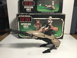 Kenner Star Wars Speeder Bike Within Its Original Box 1983 Return Of The Jedi
