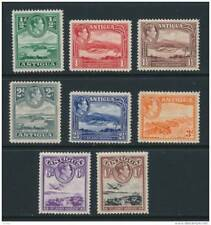 ANTIGUA, 1938 set to 1/- very fine MM, cat £25 (D)