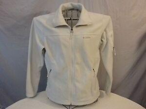 Columbia womens fleece jacket size L LT Blue