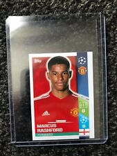 UEFA champions League 17/18 Topps Marcus Rashford Rookie Sticker.