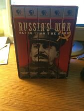 Russia's War: Blood Upon the Snow (VHS, 1997) 5-Tape Set. Rare, Hard to Find!!!!