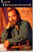 Lee Greenwood When You're In Love 1991 Cassette Country Folk Rock Western