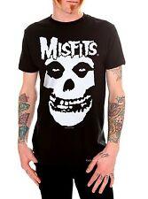 MISFITS - Band Logo + Fiend Skull T-shirt - Size Large L - Horror Punk Danzig