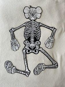 KAWS x Original Fake x Mark Dean Veca Companion Skeleton 2008 RARE