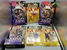 Lot of 6 Toybiz Xena Princess Warrior & Hercules Action Figures Callisto Iolaus