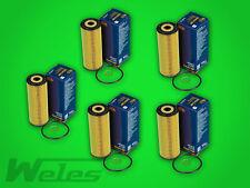 5X Filtro de Aceite SH414 Mercedes CLK A208 C208 200 230 Compresor Vito 113 2,0